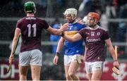 8 March 2020; Conor Whelan, right, and Niall Burke of Galway celebrate following the Allianz Hurling League Division 1 Group A Round 3 match between Galway and Tipperary at Pearse Stadium in Salthill, Galway. Photo by Sam Barnes/Sportsfile