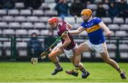 8 March 2020; Conor Whelan of Galway in action against Ronan Maher of Tipperary during the Allianz Hurling League Division 1 Group A Round 3 match between Galway and Tipperary at Pearse Stadium in Salthill, Galway. Photo by Sam Barnes/Sportsfile