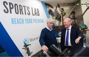 28 February 2020; Republic of Ireland manager Mick McCarthy and Mr Eamonn Kelly, Consultant Orthopaedic Surgeon, Beacon Hospital, during the launch of new Sports Lab at the Beacon Hospital in Sandyford, Dublin. Photo by Stephen McCarthy/Sportsfile