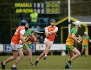 8 March 2020; Oisin Keena of Armagh during the Allianz Hurling League Round 3A Final match between Armagh and Donegal at Páirc Éire Óg in Carrickmore, Tyrone. Photo by Oliver McVeigh/Sportsfile
