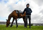 9 March 2020; Jockey Patrick Mullins with Carefully Selected ahead of the Cheltenham Racing Festival at Prestbury Park in Cheltenham, England. Photo by Harry Murphy/Sportsfile