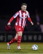 7 March 2020; David Cawley of Sligo Rovers during the SSE Airtricity League Premier Division match between Sligo Rovers and Shamrock Rovers at The Showgrounds in Sligo. Photo by Stephen McCarthy/Sportsfile