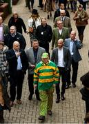 10 March 2020; Racegoers arrive prior to racing on Day One of the Cheltenham Racing Festival at Prestbury Park in Cheltenham, England. Photo by Harry Murphy/Sportsfile