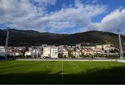 10 March 2020; A general view of Pod Malim Brdom prior to a Republic of Ireland Women training session in Petrovac, Montenegro. Photo by Stephen McCarthy/Sportsfile