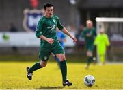 8 March 2020; Kaito Akimoto of Cabinteely during the EA Sports Cup First Round match between Cabinteely and Crumlin United at Stradbrook in Blackrock, Dublin. Photo by Ben McShane/Sportsfile