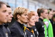 11 March 2020; Republic of Ireland manager Vera Pauw during the UEFA Women's 2021 European Championships Qualifier match between Montenegro and Republic of Ireland at Pod Malim Brdom in Petrovac, Montenegro. Photo by Stephen McCarthy/Sportsfile