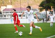 11 March 2020; Katie McCabe of Republic of Ireland during the UEFA Women's 2021 European Championships Qualifier match between Montenegro and Republic of Ireland at Pod Malim Brdom in Petrovac, Montenegro. Photo by Stephen McCarthy/Sportsfile