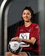 12 March 2020; Keara Cormican of Galway Women's FC at the 2020 Women's National League photocall at FAI HQ in Abbotstown, Dublin. Photo by Eóin Noonan/Sportsfile