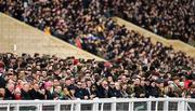 12 March 2020; Punters look on during the Paddy Power Stayers' Hurdle on Day Three of the Cheltenham Racing Festival at Prestbury Park in Cheltenham, England. Photo by Harry Murphy/Sportsfile