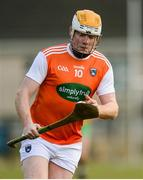 8 March 2020; Eoin McGuinness of Armagh during the Allianz Hurling League Round 3A Final match between Armagh and Donegal at Páirc Éire Óg in Carrickmore, Tyrone. Photo by Oliver McVeigh/Sportsfile