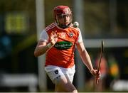 8 March 2020; Ryan Gaffney of Armagh during the Allianz Hurling League Round 3A Final match between Armagh and Donegal at Páirc Éire Óg in Carrickmore, Tyrone. Photo by Oliver McVeigh/Sportsfile
