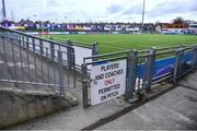 15 March 2020; A general view of Energia Park in Donnybrook, Dublin. Following directives from the Irish Government and the Department of Health the majority of the country's sporting associations have suspended all activity until March 29, in an effort to contain the spread of the Coronavirus (COVID-19).  Photo by Piaras Ó Mídheach/Sportsfile