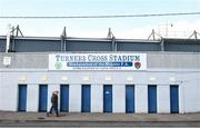 15 March 2020; A general view of outside Turners Cross in Cork, the home of Cork City FC and the Munster FA. Following directives from the Irish Government and the Department of Health the majority of the country's sporting associations have suspended all activity until March 29, in an effort to contain the spread of the Coronavirus (COVID-19). Photo by Eóin Noonan/Sportsfile