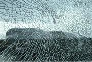 17 March 2020; The Aviva Stadium in Dublin, one of 12 stadiums across Europe due to host UEFA EURO 2020, is seen through cracked glass. Following UEFA's meeting to discuss the upcoming tournament amid the on-going global pandemic of Coronavirus (COVID-19), the decision has been taken to postpone the tournament until June 2021. Dublin is scheduled to host three group games and one round 16 game at the Aviva Stadium. Photo by Stephen McCarthy/Sportsfile