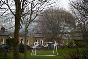 17 March 2020; The Aviva Stadium in Dublin, one of 12 stadiums across Europe due to host UEFA EURO 2020, is seen from Havelock Square. Following UEFA's meeting to discuss the upcoming tournament amid the on-going global pandemic of Coronavirus (COVID-19), the decision has been taken to postpone the tournament until June 2021. Dublin is scheduled to host three group games and one round 16 game at the Aviva Stadium. Photo by Stephen McCarthy/Sportsfile