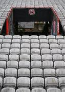 17 March 2020; Dalymount Park in Dublin, home of Bohemian FC. The grounds redevelopment is seen as one of the legacy projects to be created by Ireland's hosting of UEFA EURO 2020. Following UEFA's meeting to discuss the upcoming tournament amid the on-going global pandemic of Coronavirus (COVID-19), the decision has been taken to postpone the tournament until June 2021. Dublin, one of 12 host cities across Europe, is due to host UEFA EURO 2020. The Aviva Stadium is scheduled to host three group games and one round 16 game. Photo by Stephen McCarthy/Sportsfile