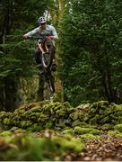 19 March 2020; Enduro mountain bike rider, Greg Callaghan, during a training session at his home in Dublin. He is currently training at home, following the postponement of the opening two rounds of the Enduro World Series, in Columbia and Chile. Photo by Ramsey Cardy/Sportsfile