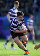 10 March 2020; Olan Storey of Terenure College during the Bank of Ireland Leinster Schools Junior Cup Semi-Final match between Terenure College and Newbridge College at Energia Park in Donnybrook, Dublin. Photo by Ramsey Cardy/Sportsfile