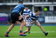 9 March 2020; Oliver Coffey of Blackrock College during the Bank of Ireland Leinster Schools Junior Cup Semi-Final match between Blackrock College and St Vincent's, Castleknock College at Energia Park in Donnybrook, Dublin. Photo by Ramsey Cardy/Sportsfile