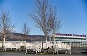 20 March 2020; A general view of empty seats at Dundalk Racecourse in Co Louth. Photo by Sam Barnes/Sportsfile