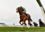 23 March 2020; Fastar, with Colin Keane up, on their way to winning the Naas Racecourse Launches The 2020 Irish Flat Season Handicap at Naas Racecourse in Naas, Co Kildare. Photo by Seb Daly/Sportsfile