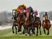 23 March 2020; Numerian, centre, with Declan McDonogh up, on their way to winning the Devoy Stakes at Naas Racecourse in Naas, Co Kildare. Photo by Seb Daly/Sportsfile