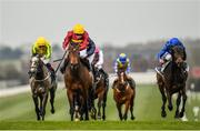 23 March 2020; Numerian, left, with Declan McDonogh up, on their way to winning the Devoy Stakes at Naas Racecourse in Naas, Co Kildare. Photo by Seb Daly/Sportsfile