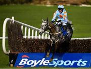 24 March 2020; Bachasson, with Paul Townend up, jumps the last on their way to winning the Download The BoyleSports App Steeplechase at Clonmel Racecourse in Clonmel, Tipperary. Photo by Seb Daly/Sportsfile