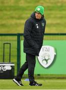 2 September 2019; Republic of Ireland manager Mick McCarthy during a Republic of Ireland training session at the FAI National Training Centre in Abbotstown, Dublin. Photo by Seb Daly/Sportsfile