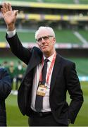 26 March 2019; Republic of Ireland manager Mick McCarthy prior to the UEFA EURO2020 Group D qualifying match between Republic of Ireland and Georgia at the Aviva Stadium, Lansdowne Road, in Dublin. Photo by Stephen McCarthy/Sportsfile