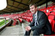 23 August 2006; Derry City manager Stephen Kenny after a press conference ahead of their UEFA Cup Second Qualifying Round, Second Leg Game against Gretna. Brandywell Stadium, Derry. Photo by Oliver McVeigh/Sportsfile