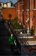 17 April 2020; Republic of Ireland and Shamrock Rovers midfielder Jack Byrne during a training run at Jones' Road near his home in Dublin. Photo by Stephen McCarthy/Sportsfile