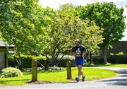 1 May 2020; Five Stewarts Staff members will run 150km in a day in a Race against the Sun. Each participant will complete a 5km run six times in a bid to franchise much needed funds for the support of Stewarts Service users. Pictured is Alan Crean from Kimmage, Dublin at Stewarts Care Campus in Dublin. Photo by Sam Barnes/Sportsfile
