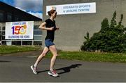 1 May 2020; Five Stewarts Staff members will run 150km in a day in a Race against the Sun. Each participant will complete a 5km run six times in a bid to franchise much needed funds for the support of Stewarts Service users. Pictured is Claire Mulligan from Maynooth, Kildare, at Stewarts Care Campus in Dublin. Photo by Sam Barnes/Sportsfile