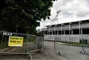 10 May 2020; A general view of Páirc Uí Chaoimh on the afternoon of the Munster GAA Hurling Senior Championship Round 1 match between Cork and Limerick at Páirc Uí Chaoimh in Cork. This weekend, May 9 and 10, was due to be the first weekend of games in Ireland of the GAA All-Ireland Senior Championship, beginning with provincial matches, which have been postponed following directives from the Irish Government and the Department of Health in an effort to contain the spread of the Coronavirus (COVID-19). The GAA have stated that no inter-county games will take place before October 2020. Photo by Eóin Noonan/Sportsfile
