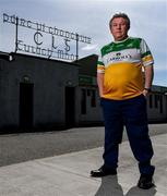 9 May 2020; Legendary Offaly supporter Mick McDonagh, from Tullamore, pictured outside Bord na Mona O'Connor Park on the afternoon of the Leinster GAA Football Senior Championship Round 1 match between Carlow and Offaly at Bord na Mona O'Connor Park in Tullamore, Offaly. This weekend, May 9 and 10, was due to be the first weekend of games in Ireland of the GAA All-Ireland Senior Championship, beginning with provincial matches, which have been postponed following directives from the Irish Government and the Department of Health in an effort to contain the spread of the Coronavirus (COVID-19). The GAA have stated that no inter-county games will take place before October 2020. Photo by Sam Barnes/Sportsfile