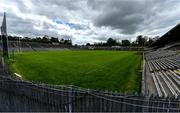 10 May 2020; A general view of St Tiernach's Park on the afternoon of the Ulster GAA Football Senior Championship Preliminary Round match between Monaghan and Cavan at St Tiernach's Park in Clones, Monaghan. This weekend, May 9 and 10, was due to be the first weekend of games in Ireland of the GAA All-Ireland Senior Championship, beginning with provincial matches, which have been postponed following directives from the Irish Government and the Department of Health in an effort to contain the spread of the Coronavirus (COVID-19). The GAA have stated that no inter-county games will take place before October 2020. Photo by Brendan Moran/Sportsfile