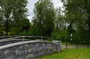 10 May 2020; A general view of Barry McGuigan Park in the town of Clones, Monaghan. Photo by Brendan Moran/Sportsfile