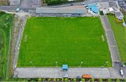 13 May 2020; A general view of Finn Park, home of Finn Harps Football Club, in Ballybofey, Donegal. Photo by Stephen McCarthy/Sportsfile