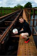 13 May 2020; Tyrone footballer Cathal McShane poses for a portrait near his home in Tyrone. Following directives from the Irish and British Governments, the majority of sporting associations have suspended all organised sporting activity in an effort to contain the spread of the Coronavirus (COVID-19) pandemic. Photo by Ramsey Cardy/Sportsfile