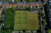 15 May 2020; A general view of Stratford Lawn Tennis Club in Rathmines, Dublin, as it prepares to re-open as one of the first sports allowed to resume having followed previous directives from the Irish Government on suspending all tennis activity in an effort to contain the spread of the Coronavirus (COVID-19). Tennis clubs in the Republic of Ireland can resume activity from May 18th under the Irish government's Roadmap for Reopening of Society and Business once they follow the protocol published by the Tennis Ireland. The protocol sets out safe measures for tennis to return in a phased manner. Photo by Stephen McCarthy/Sportsfile