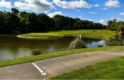 17 May 2020; A general view of Fota Island Golf Club in Cork as it prepares to re-open as one of the first sports allowed to resume having followed previous directives from the Irish Government on suspending all golfing activity in an effort to contain the spread of the Coronavirus (COVID-19). Golf clubs in the Republic of Ireland can resume activity from May 18th under the Irish government's Roadmap for Reopening of Society and Business once they follow the protocol jointly published by the GUI and ILGU. The protocol sets out safe measures for golf to return in a phased manner. Photo by Eóin Noonan/Sportsfile