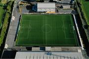 14 May 2020; A general view of Oriel Park, home of Dundalk Football Club, in Dundalk, Louth. Photo by Stephen McCarthy/Sportsfile