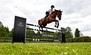 20 May 2020; Showjumper Susan Fitzpatrick on 'Quite Chacco' during a training session at Keatingstown House in Kilkenny while adhering to the guidelines of social distancing set down by the Health Service Executive. Following directives from the Irish Government and the Department of Health the majority of the country's sporting associations have suspended all organised sporting activity in an effort to contain the spread of the Coronavirus (COVID-19). Photo by David Fitzgerald/Sportsfile