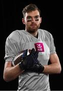 28 May 2020; Breaffy and Mayo All-Star footballer Aidan O'Shea is pictured for the launch of the re-release of AIB's GAA series 'The Toughest Trade' on Virgin Media Television this summer. Four episodes will air featuring GAA stars Aidan O'Shea, Michael Murphy, Lee Chin, and Brendan Maher as they swap sports with their counterparts in American Football, Rugby, Ice Hockey and Cricket. For exclusive content and to see why AIB are backing Club and County follow us @AIB_GAA on Twitter, Instagram, Facebook and AIB.ie/GAA. Photo issued by Sportsfile on behalf of AIB.