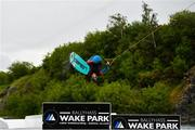 2 June 2020; Irish Professional Wakeboarder David O'Caoimh during a training session at Ballyhass Wake Park in Cork while adhering to the guidelines of social distancing. Following directives from the Irish Government, the majority of sporting associations have suspended all organised sporting activity in an effort to contain the spread of the Coronavirus (COVID-19) pandemic. Photo by Sam Barnes/Sportsfile