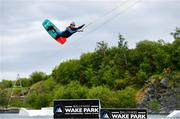 2 June 2020; Irish Professional Wakeboarder David O'Caoimh at Ballyhass Wake Park in Cork while adhering to the guidelines of social distancing. Following directives from the Irish Government, the majority of sporting associations have suspended all organised sporting activity in an effort to contain the spread of the Coronavirus (COVID-19) pandemic. Photo by Sam Barnes/Sportsfile