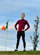 3 June 2020; Irish figure skater Conor Stakelum, who was 2017 FBMA Trophy silver medalist and is a five-time Irish national champion, poses for a portrait in Dublin. He is normally based in Dundee in Scotland but with the ice rink closed in Dundee, he has temporarily relocated to Dublin and is working as a microbiologist in a Dublin hospital and training around his local area. Following directives from the Irish Government and the Department of Health the majority of the country's sporting associations have suspended all organised sporting activity in an effort to contain the spread of the Coronavirus (COVID-19) pandemic. Photo by Brendan Moran/Sportsfile