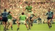 30 July 1995; John McDermott of Meath in action against Brian Stynes of Dublin during the Bank of Ireland Leinster Senior Football Championship Final match between Dublin and Meath at Croke Park in Dublin. Photo by Ray McManus/Sportsfile