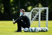 8 June 2020; Shamrock Rovers manager Stephen Bradley during a Shamrock Rovers training session at Roadstone Group Sports Club in Dublin. Following approval from the Football Association of Ireland and the Irish Government, the four European qualified SSE Airtricity League teams resumed collective training. On March 12, the FAI announced the cessation of all football under their jurisdiction upon directives from the Irish Government, the Department of Health and UEFA, due to the outbreak of the Coronavirus (COVID-19) pandemic. Photo by Seb Daly/Sportsfile
